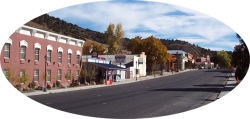 Eureka Nevada -- Looking East